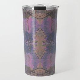 Abstract mosaic panel Travel Mug