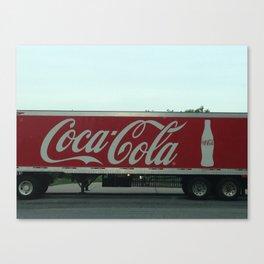 Cola Canvas Print