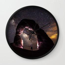 Delicate Nights Wall Clock