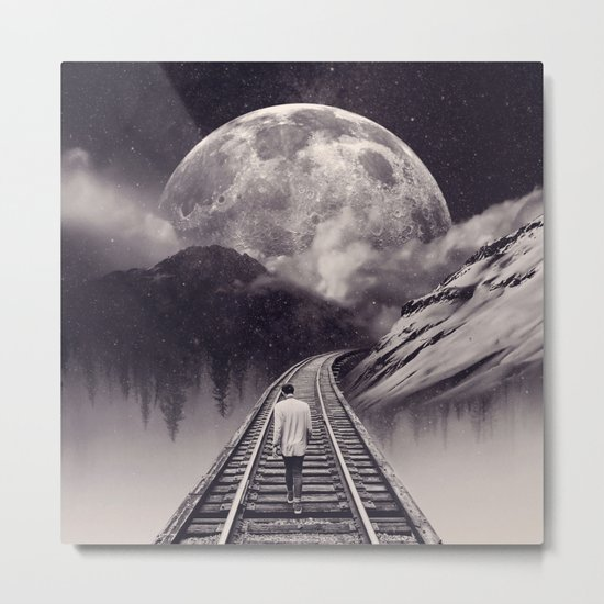 Whimsical Journey Metal Print