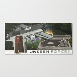 Unseen Forces Canvas Print