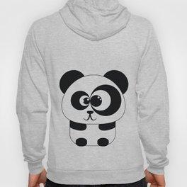 Cute Panda Illustration Hoody