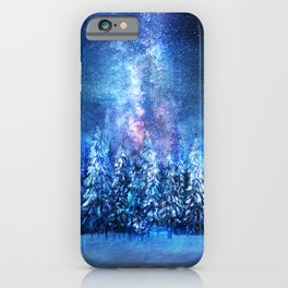 Forest under the Starlight iPhone Case