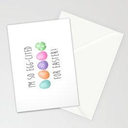 I'm So Egg-cited For Easter Stationery Cards
