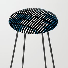 Shutters Grid Counter Stool