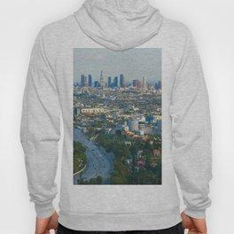Los Angeles Skyline and Los Angeles Basin Panorama Hoody