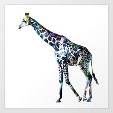 Giraffe 2 Art Print