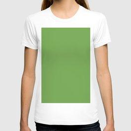 Green. Verde. Vert. Grün. зеленый T-shirt