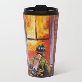 THE DRAGON firefighters Travel Mug