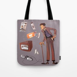 Turned Out Pockets Tote Bag