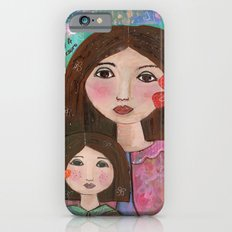 Mom and Daughter  iPhone 6s Slim Case