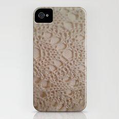 crochet cotton iPhone (4, 4s) Slim Case