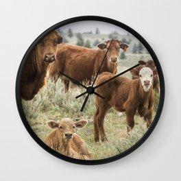 J'Accuse Wall Clock