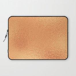 Simply Metallic in Copper Laptop Sleeve