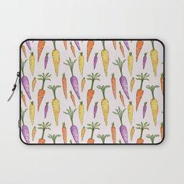 Watecolor Heirlom Carrots Laptop Sleeve