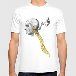 spinal column T-shirt