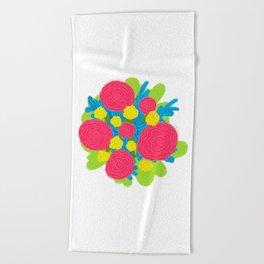 Bouquet #3 Beach Towel