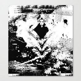 ZAK B&W Canvas Print