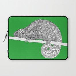 Green-Chameleon Laptop Sleeve