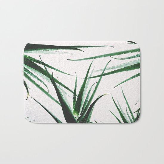plant vibes Bath Mat