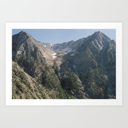 Sierra Nevada Art Print