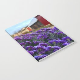 Village flowers Notebook