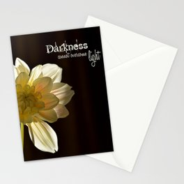 Light in the Darkness Stationery Cards