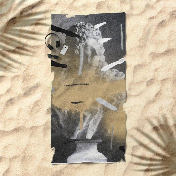 Composition 531 Beach Towel