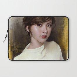 Portrait of Baifern Pimchanok Luevisadpaibul Laptop Sleeve