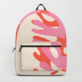 Sea Leaf: Matisse Collage Peach Edition Backpack