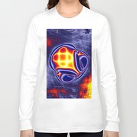 ufo Long Sleeve T-shirts featuring ufo by donphil
