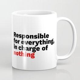 Product Management Life Cycle Coffee Mug