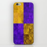 lakers iPhone & iPod Skins featuring LA-kers by Ramo