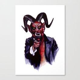 Uncle Satan Canvas Print