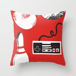 Games Night Throw Pillow