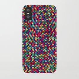 Checks Cubed iPhone Case