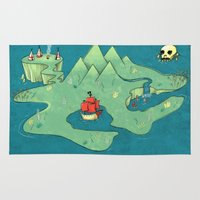 neverland Area & Throw Rugs featuring Neverland by Quinn Shipton