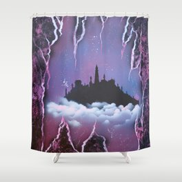 Once Upon A Castle Shower Curtain