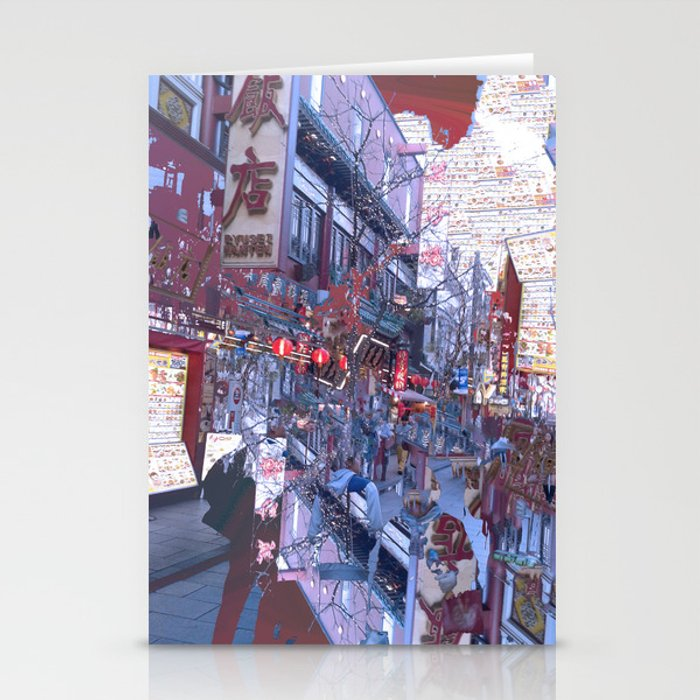 Yokohama Chinatown Stationery Cards