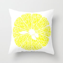 Lemonade Made Throw Pillow