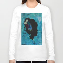Silhouette girl Long Sleeve T-shirt