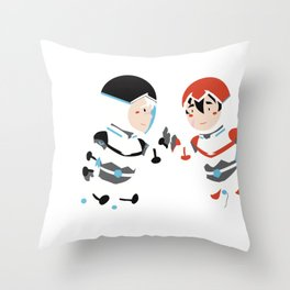 SHEITH, BLACK PALADINS BORN TO BE TOGETHER Throw Pillow