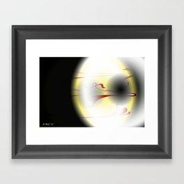Digital Eye Framed Art Print