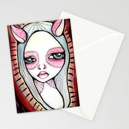 Bird Girl Stationery Cards