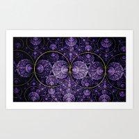 Fractals Art Print