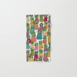 West Coast pineapples Hand & Bath Towel