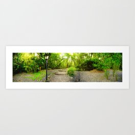 Nature Panorama Art Print