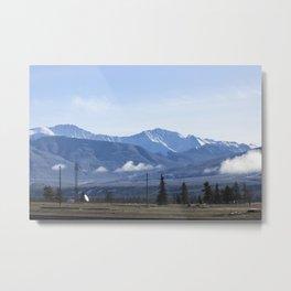 The Mountains of Jasper 2 Metal Print