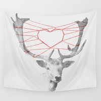 grace Wall Tapestries featuring How are you dearie by Picomodi