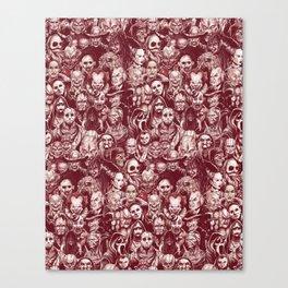 Silverbax Horror Canvas Print
